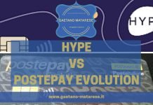 Hype vs PostePay Evolution