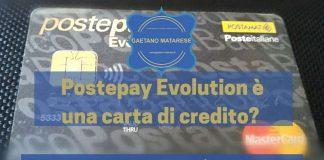 Postepay Evolution carta di credito